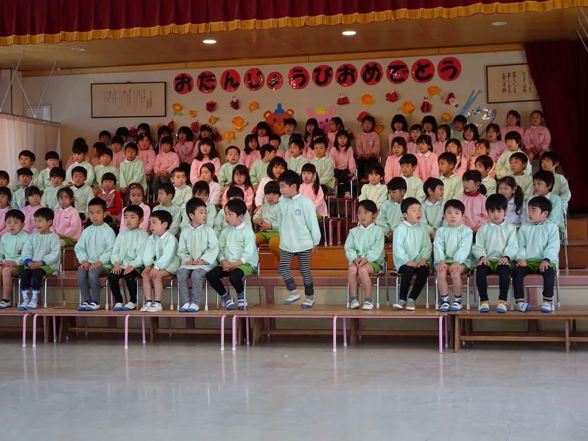 孫の幼稚園へ。翌日が卒園式でしたので、そのリハーサルを見学させて貰いました。 | 鹿児島