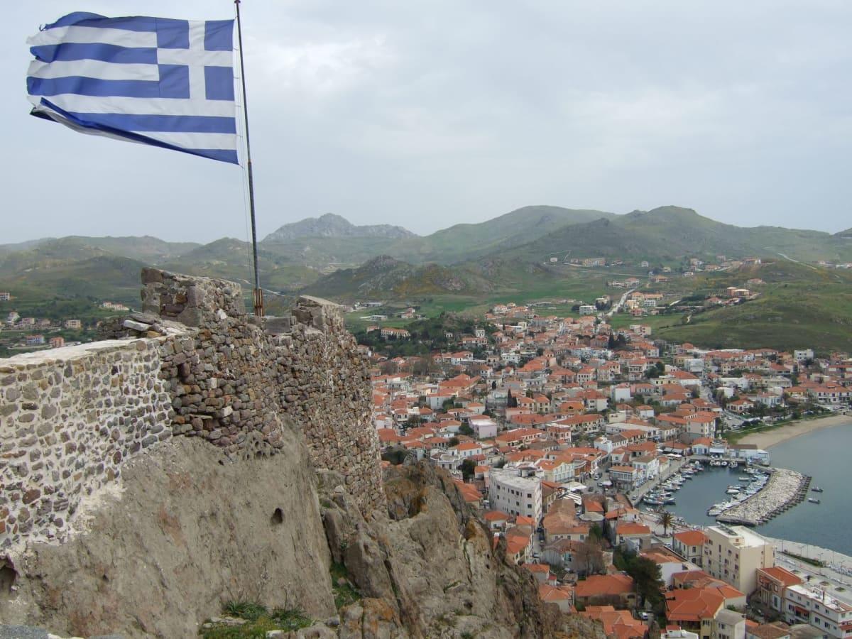 Day2#リムノス島#城塞から | リムノス島