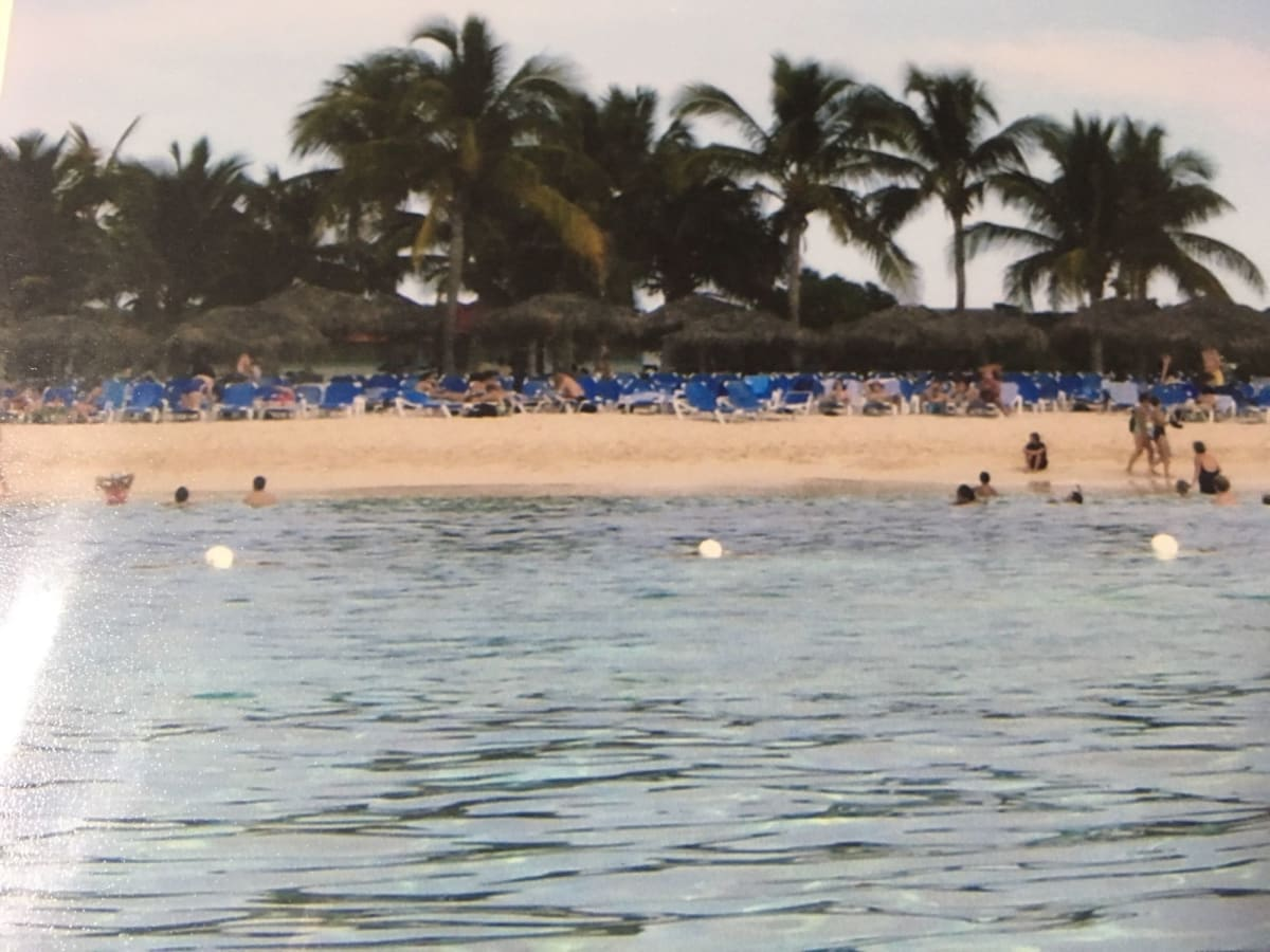 Princess Cays プリンセスのプライベートビーチ | プリンセス・ケイ(エルーセラ島)