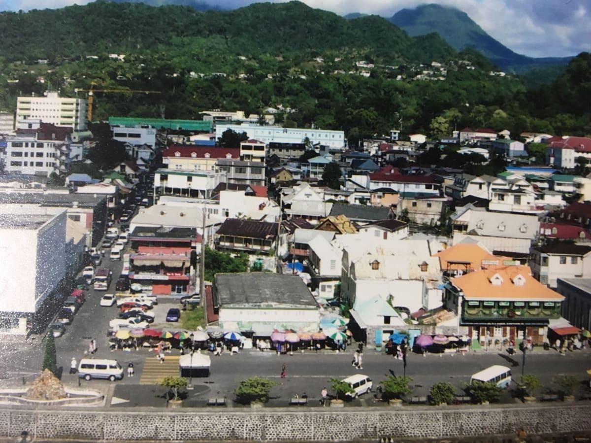 ドミニカの小さな街