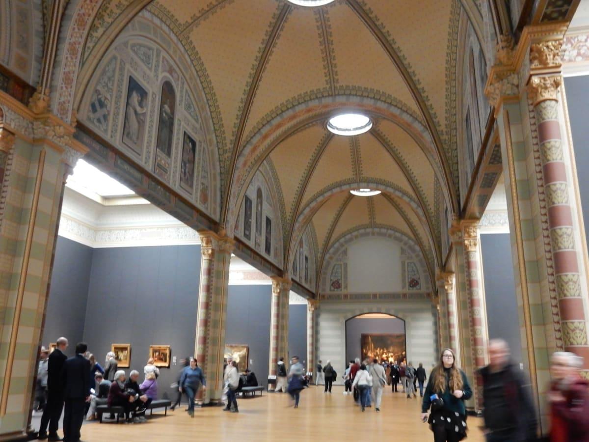 Day1#アムステルダム#国立美術館内   アムステルダム