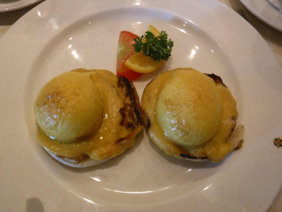 サバティーニでの朝食・・の1品。