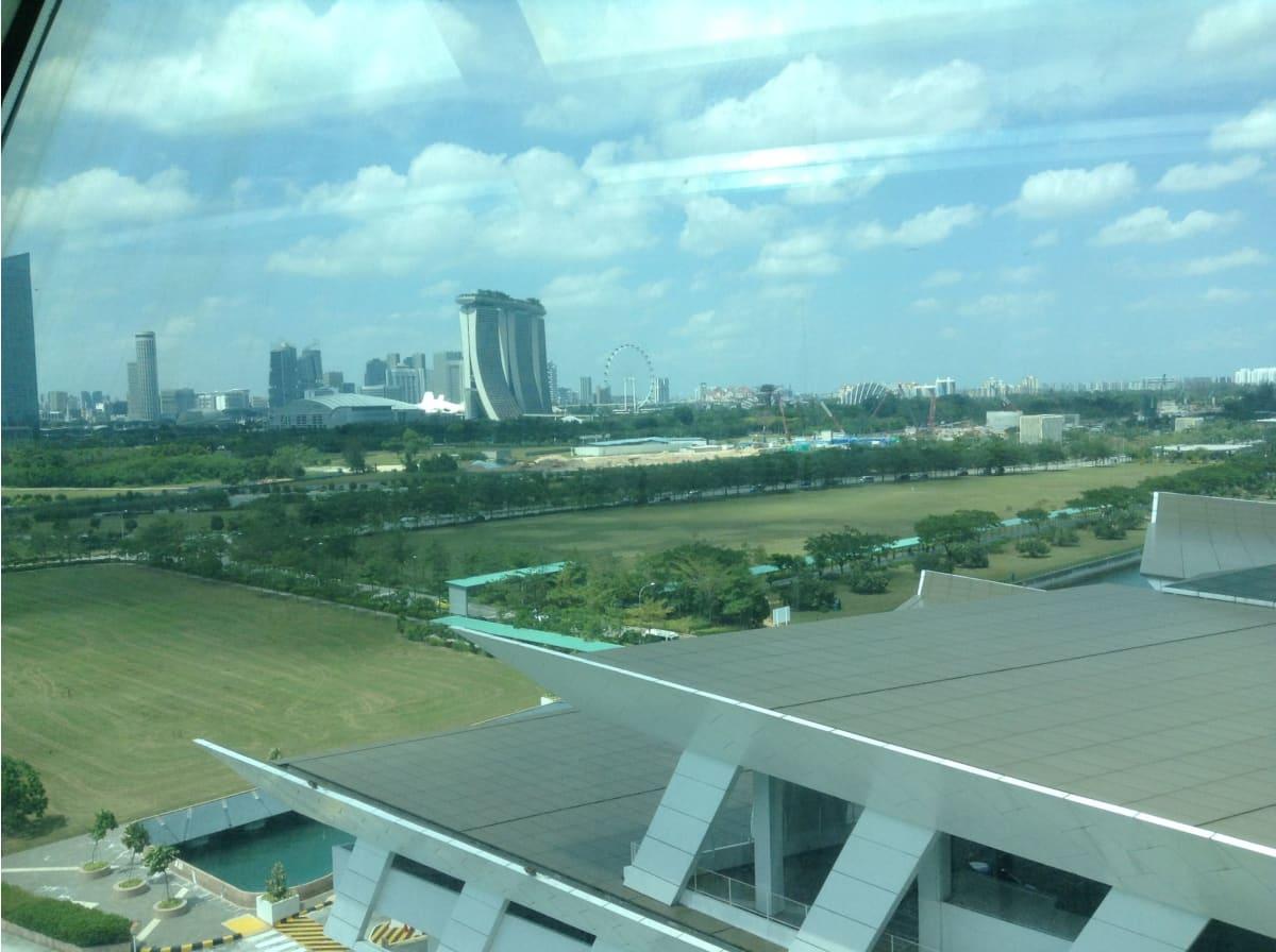 シンガポール出航前❗️   シンガポール
