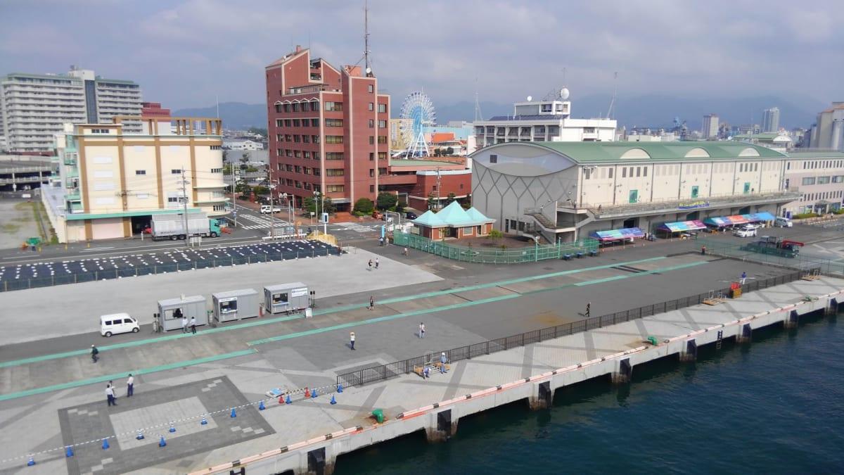 #清水港入港