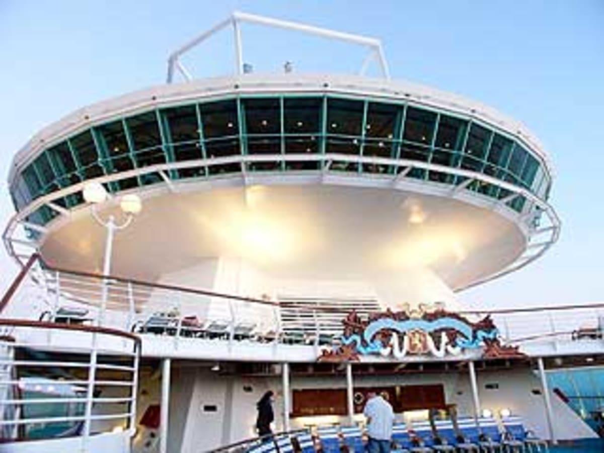 客船モナーク・オブ・ザ・シーズの外観、船内施設