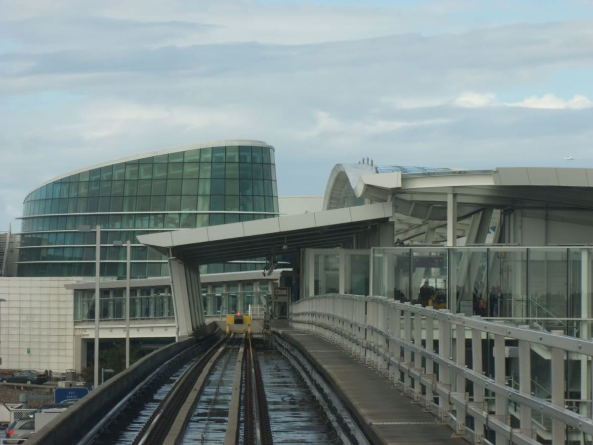 カナダラインの空港駅