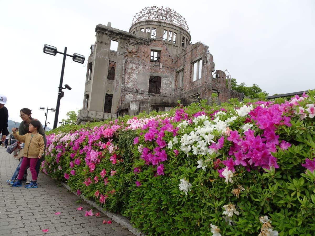ここから、原爆ドーム周辺の散策へ | 広島