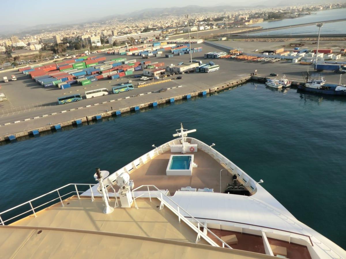 キプロスのリマソール入港 | リマソールでの客船ノルウェージャン・ジェイド
