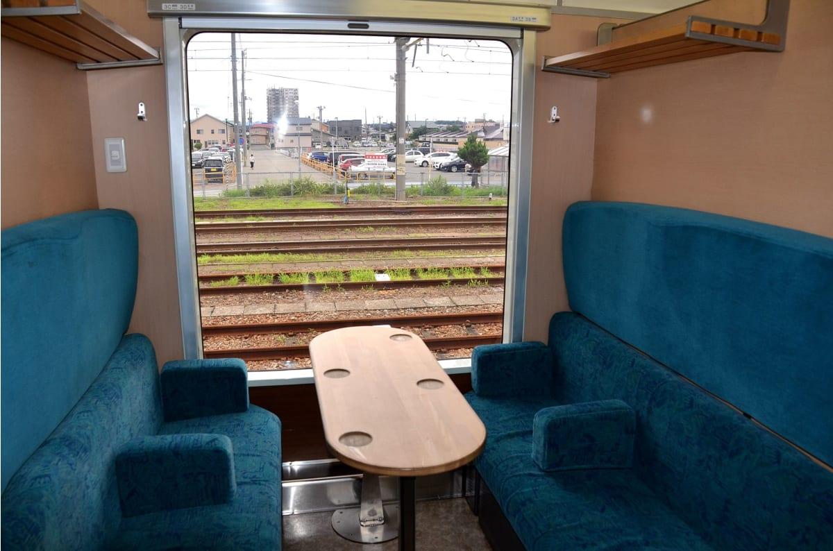 列車内も豪華 | 秋田