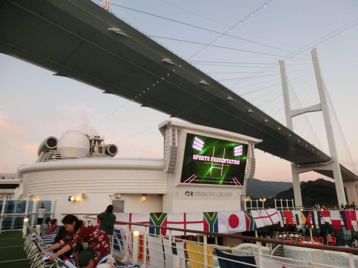 客船ダイヤモンド・プリンセスの船内施設
