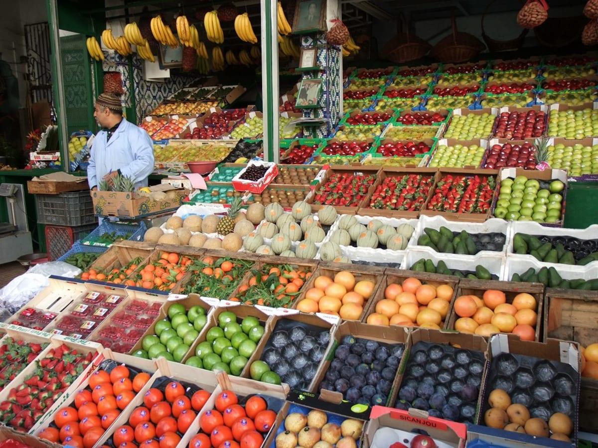 市場の果物屋 | カサブランカ