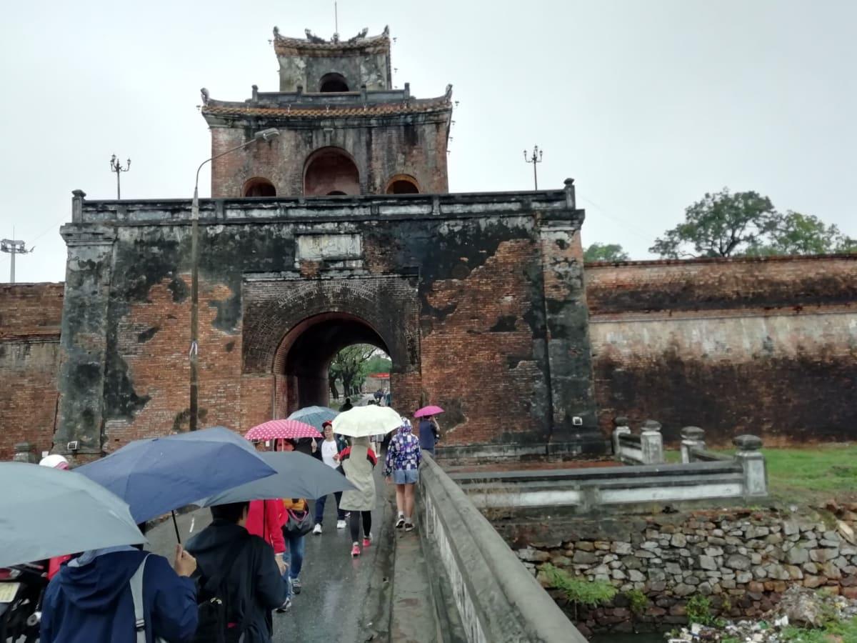 フエ王朝の世界遺産の入り口   チャンマイ(フエ)