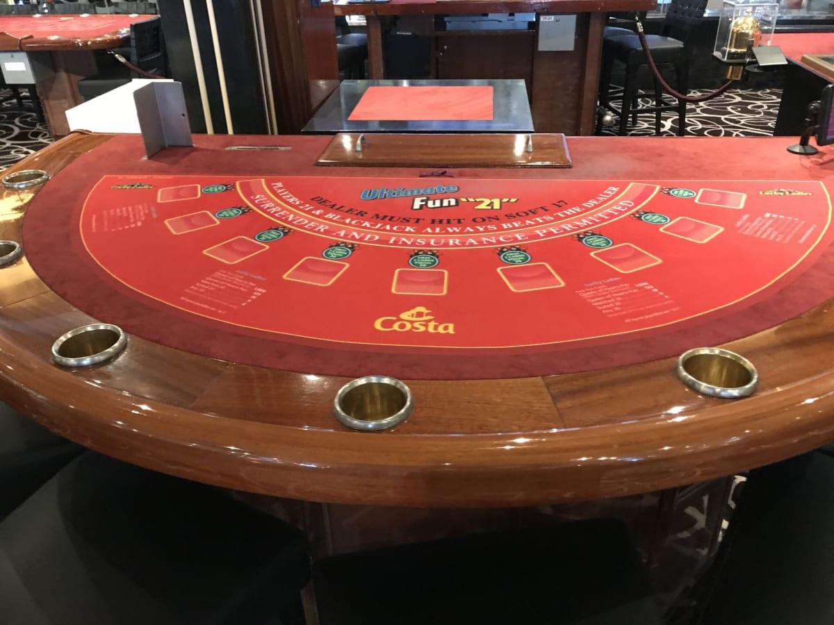 カジノ | 客船コスタ・ネオロマンチカの船内施設