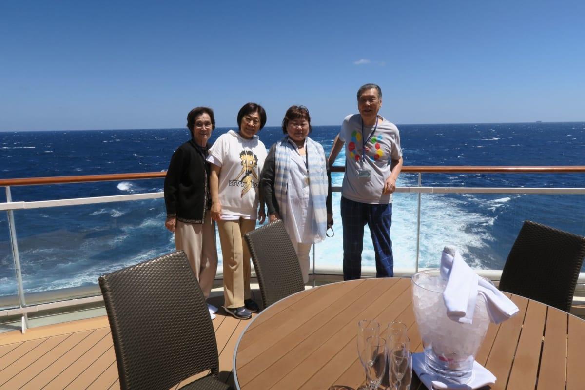 客船セレブリティ・ミレニアムの乗客、船内施設