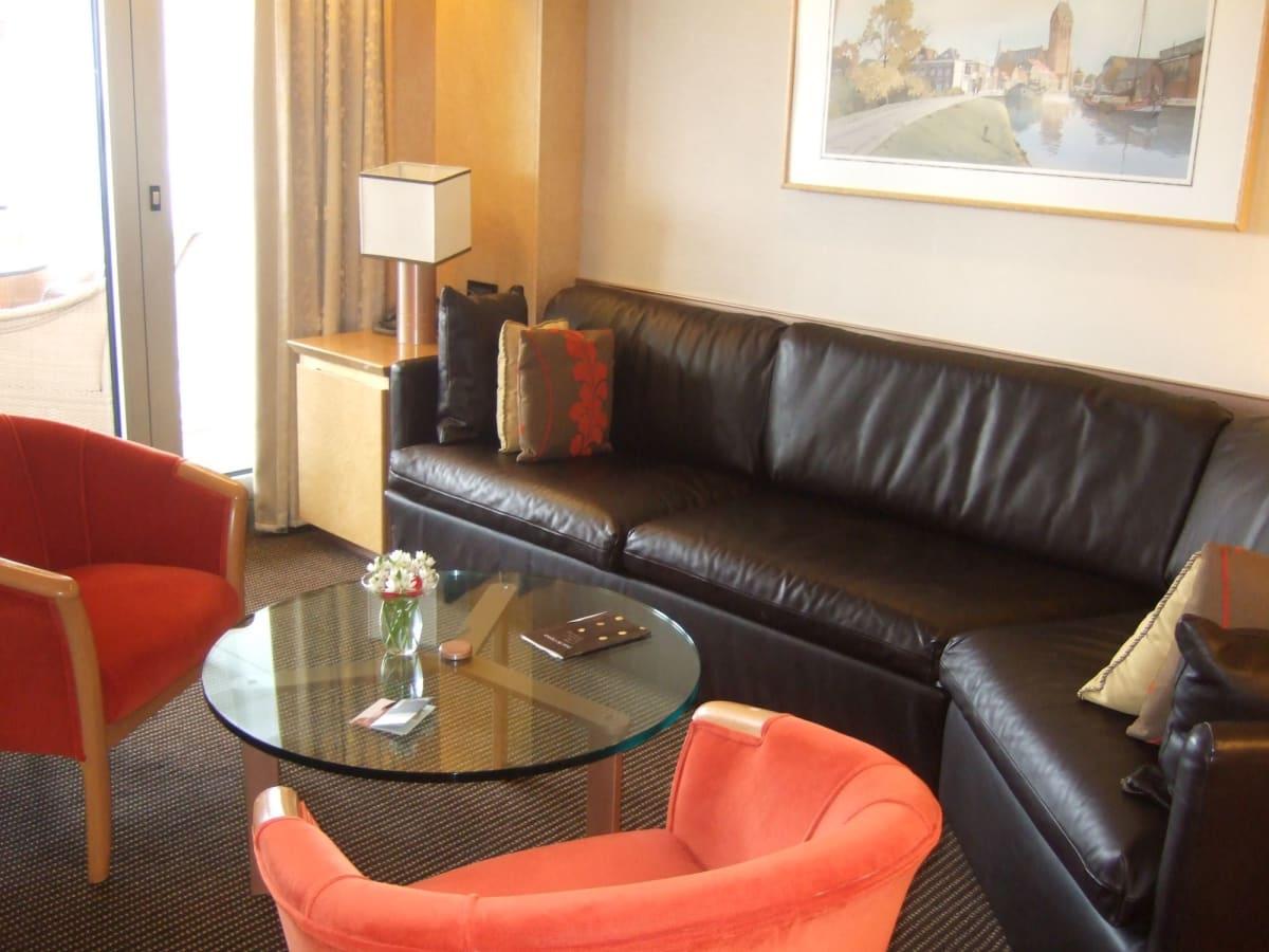 船室 ネプチューンスイート | 客船ロッテルダムの客室