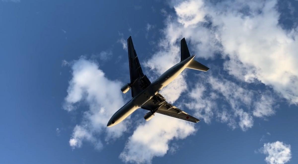 東京から神戸に向かう航路では空港近くを通り、 飛行機が船の真上を通過! とても迫力がありました。