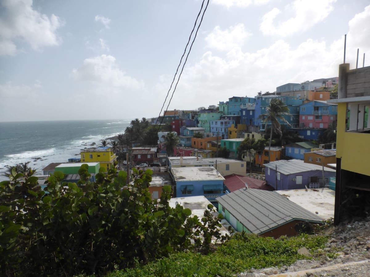 オールドサンファンのカラフルな町並み | サンフアン(プエルトリコ島)