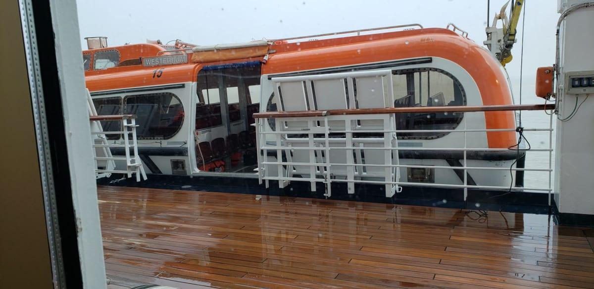 客船ウエステルダムの船内施設