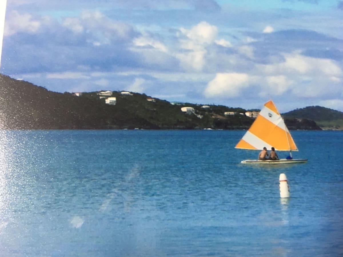 セーリングボートを借りて遊びました | シャーロット・アマリー(セント・トーマス島)