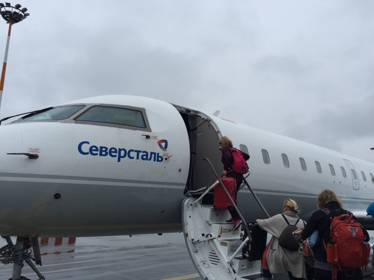 ヘルシンキからチャーター機でムルマンスクへ! | ヘルシンキ
