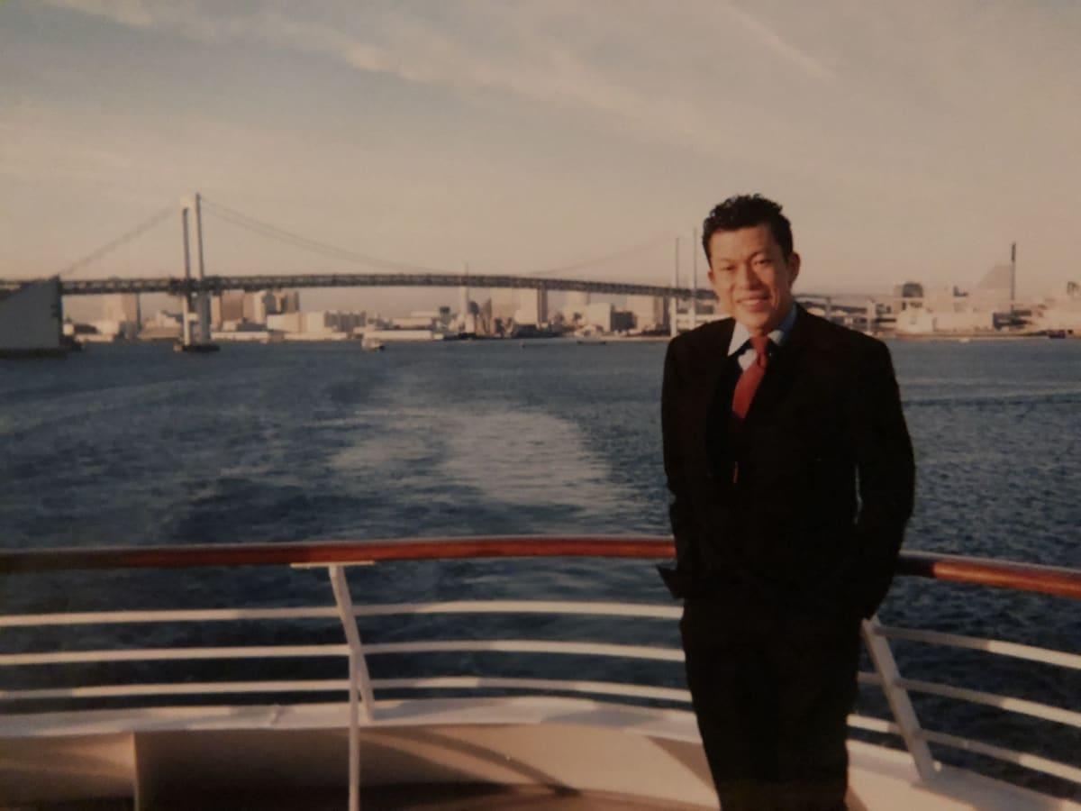 真冬ですのでとても寒かったです。 | 客船飛鳥の船内施設