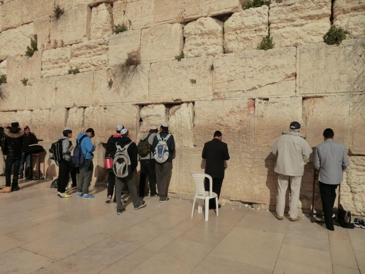 エルサレム 嘆きの壁での祈り | ハイファ / テルアビブ