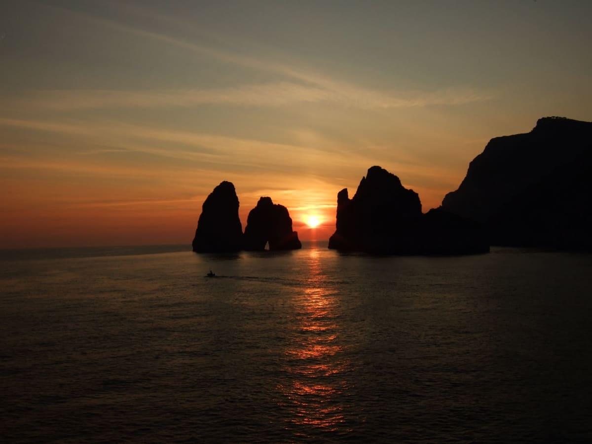 Day2#カプリ島#夕日 | ソレント