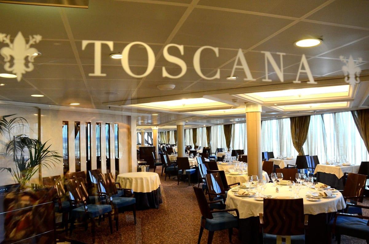 スペシャリテイレストランイタリア料理の「トスカーナ」