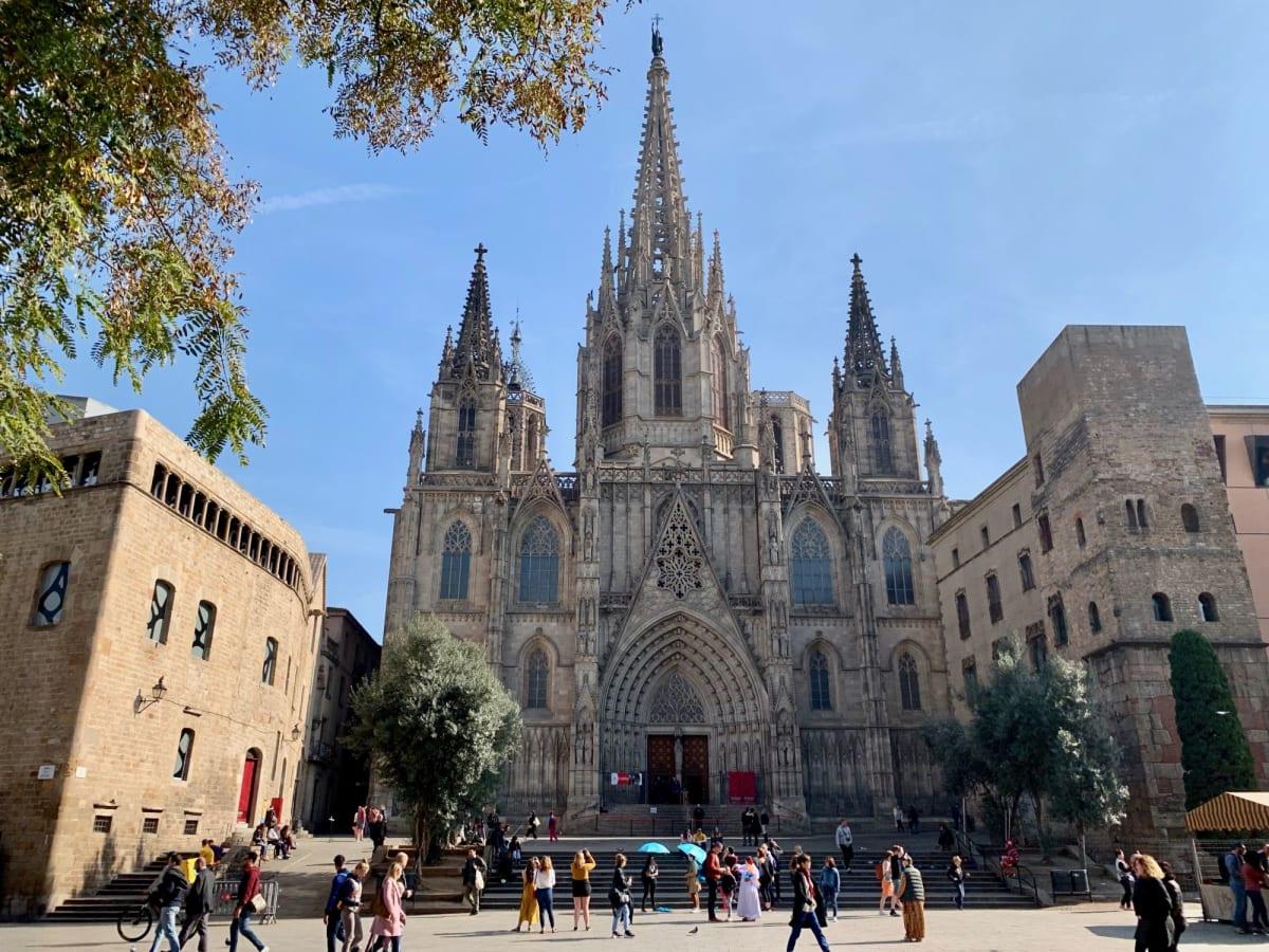 サンタ・エウラリア大聖堂   バルセロナ