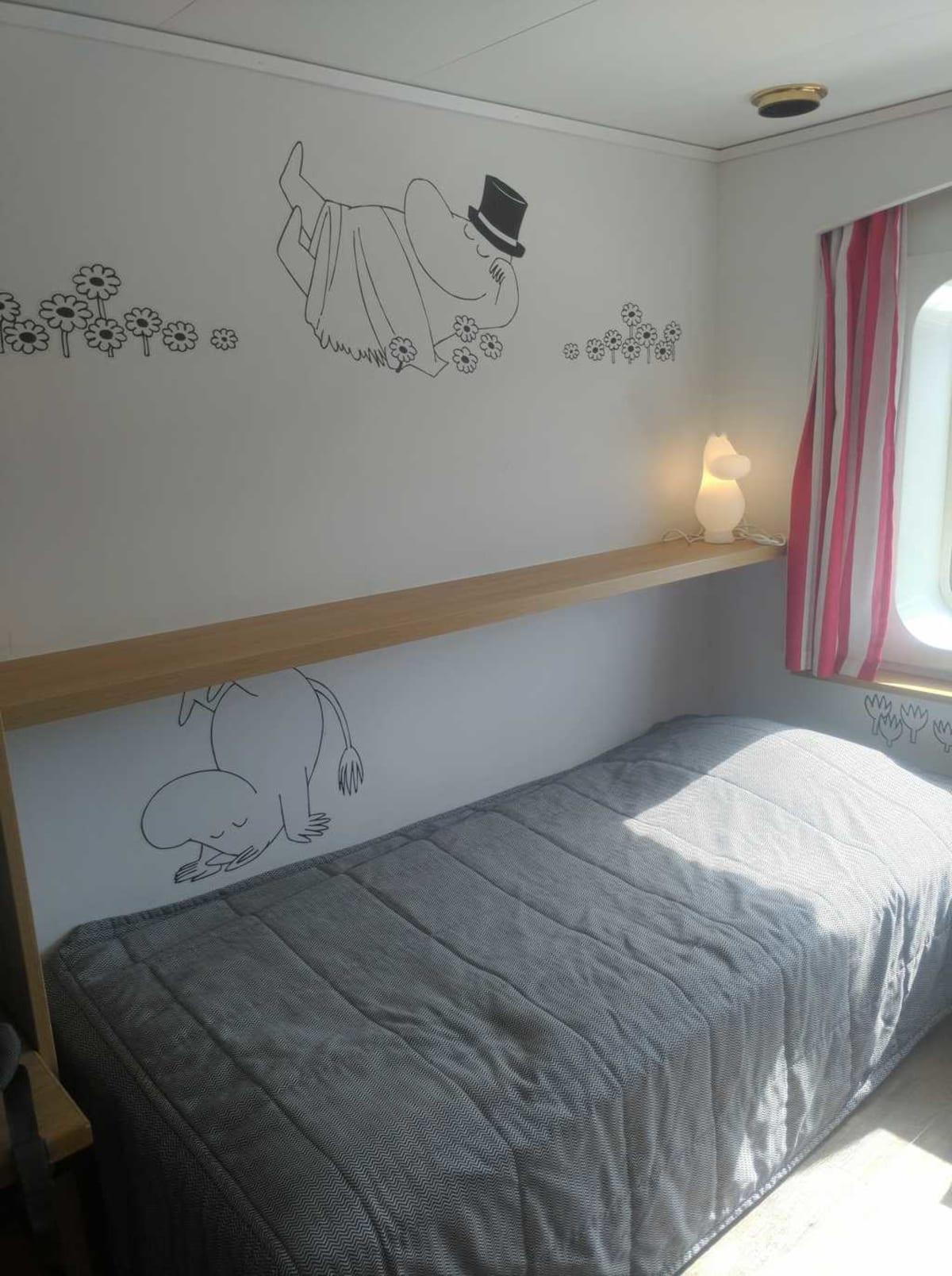Moomin cabin | 客船シリヤ・セレナーデの客室