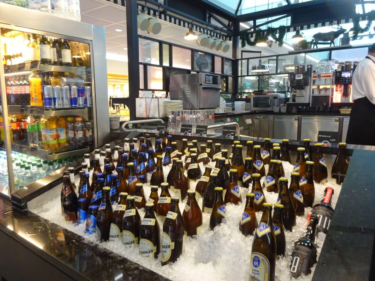 ミュンヘン経由。もちろんビールを飲みます!