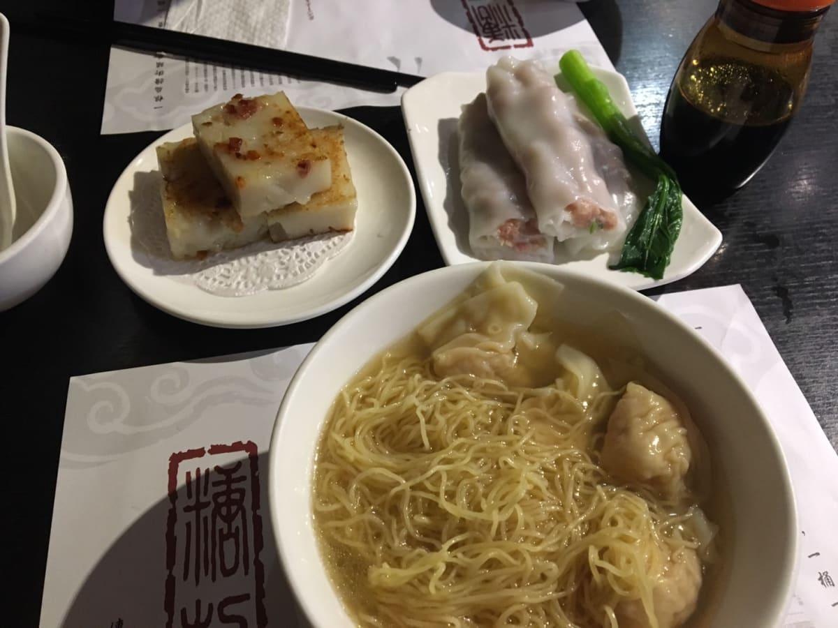 –糖朝–   ワンタン麺が大好きです! | 香港