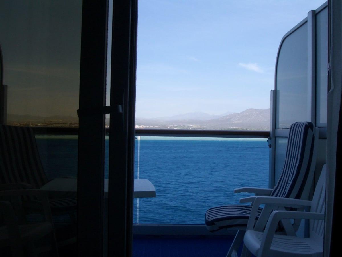 客船サファイア・プリンセスの客室