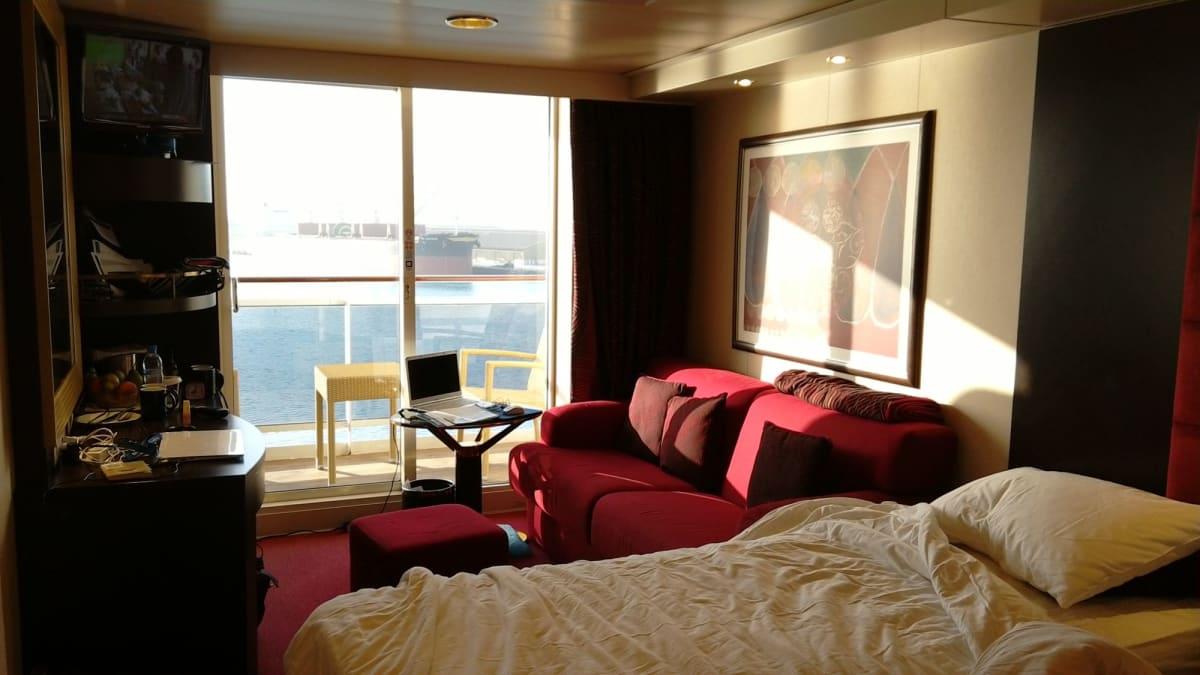 客船MSCスプレンディダの客室