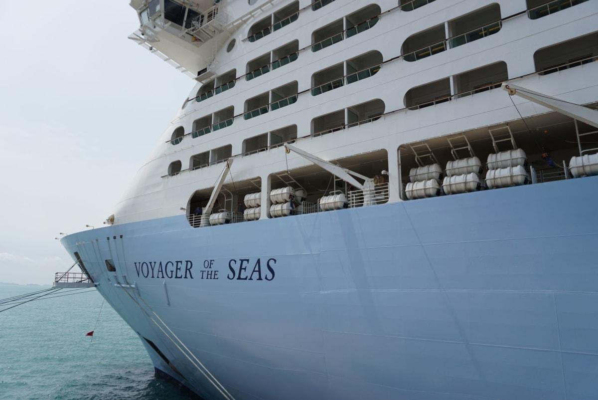 生まれ変わったボイジャーはクァンタムクラスと同じカラーに! | 客船ボイジャー・オブ・ザ・シーズの外観