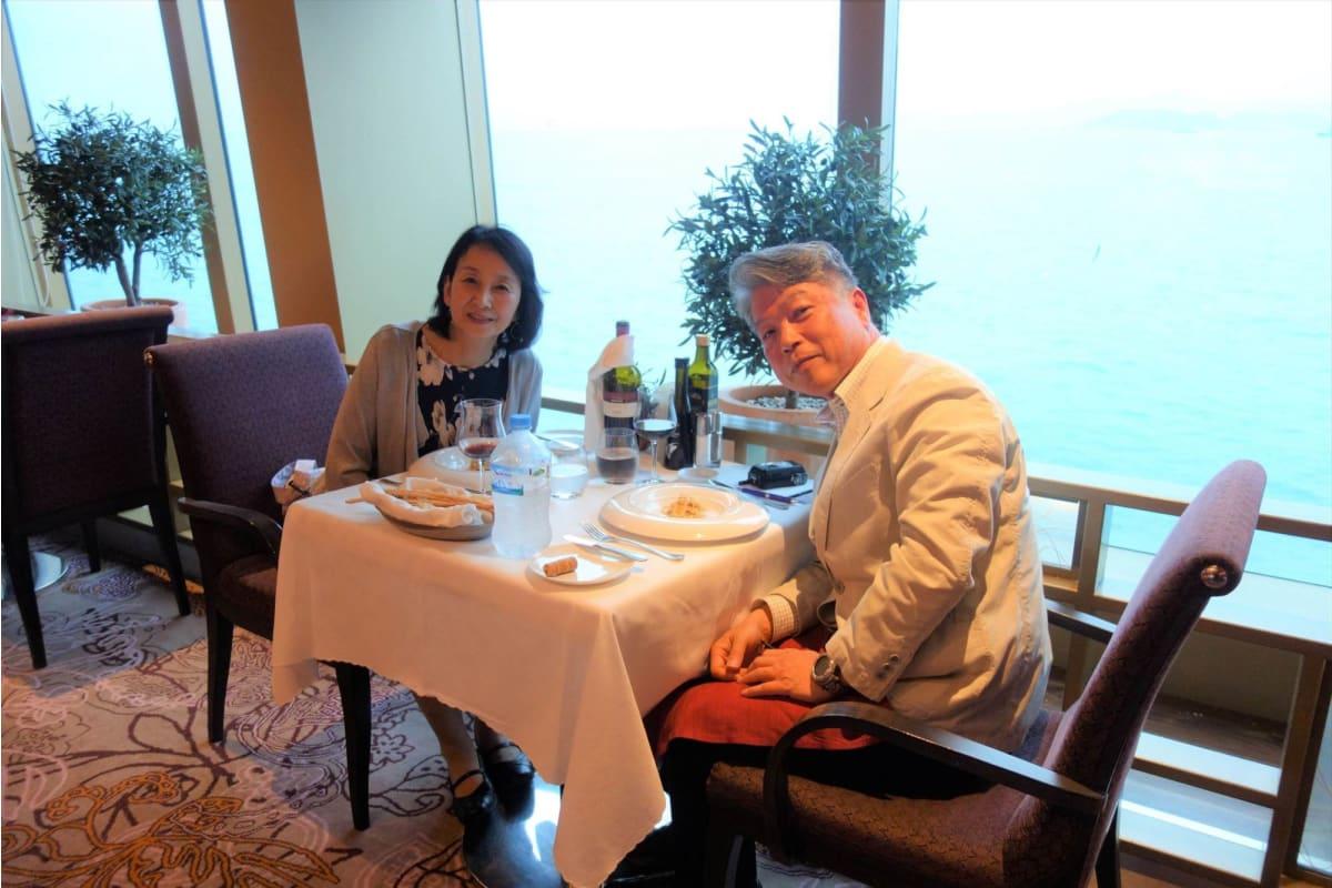 3日目の夜、有料のイタリアン・レストラン「カサノバ」に行ってみた。 | 客船コスタ・ネオロマンチカのダイニング、フード&ドリンク、船内施設