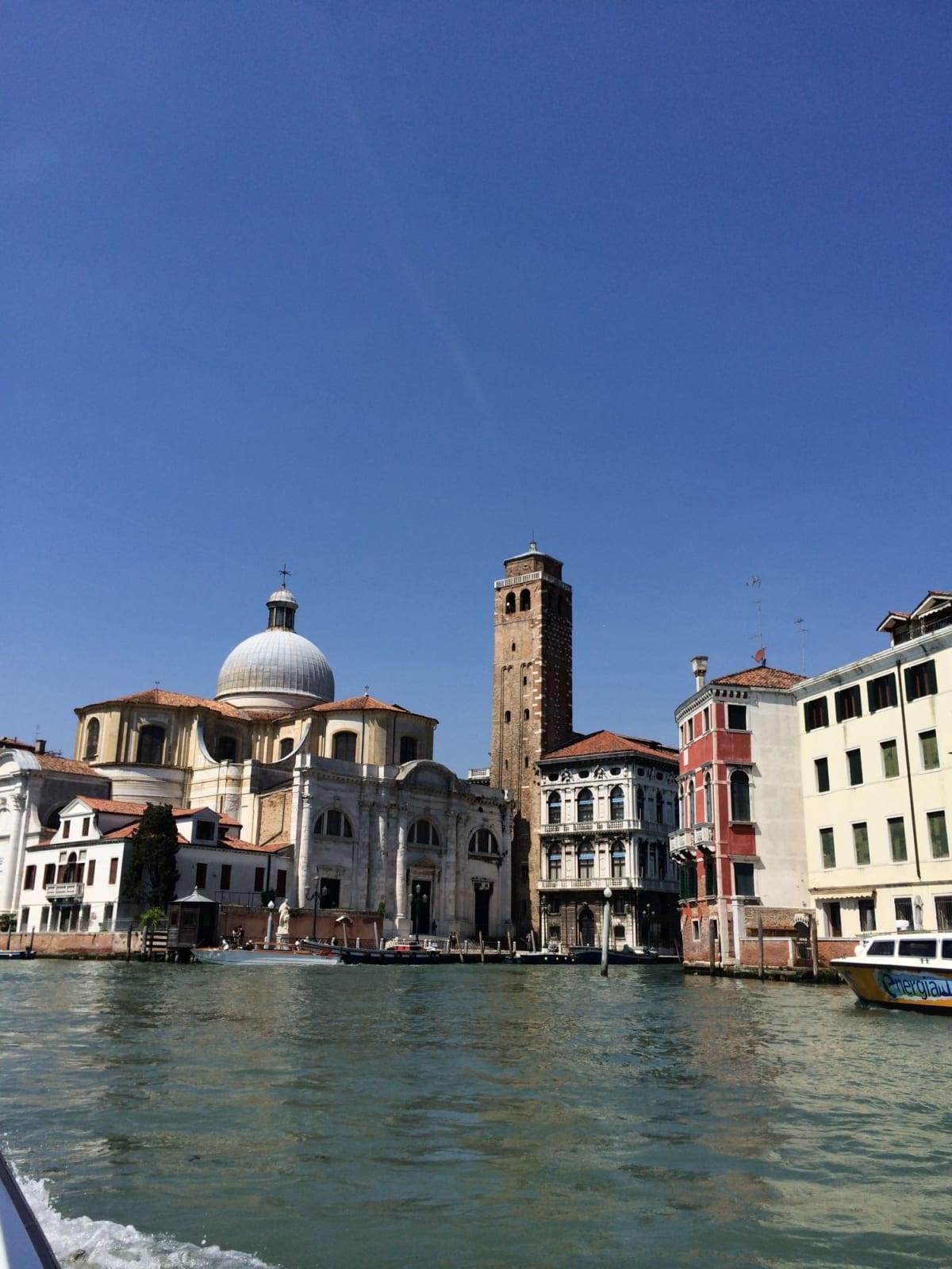 ボートタクシーからのヴェニス① | ヴェネツィア