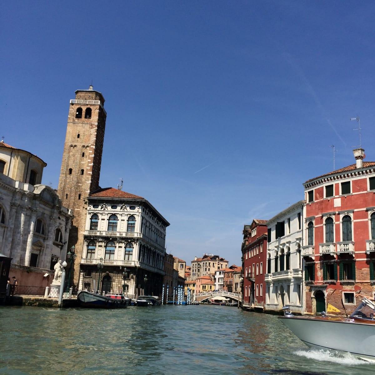 ボートタクシーからのヴェニス② | ヴェネツィア