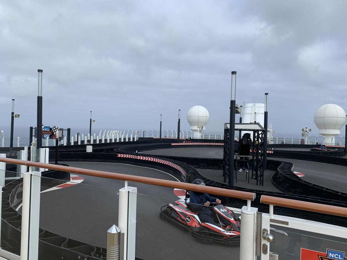 ゴーカート | 客船ノルウェージャン・ブリスのアクティビティ、船内施設