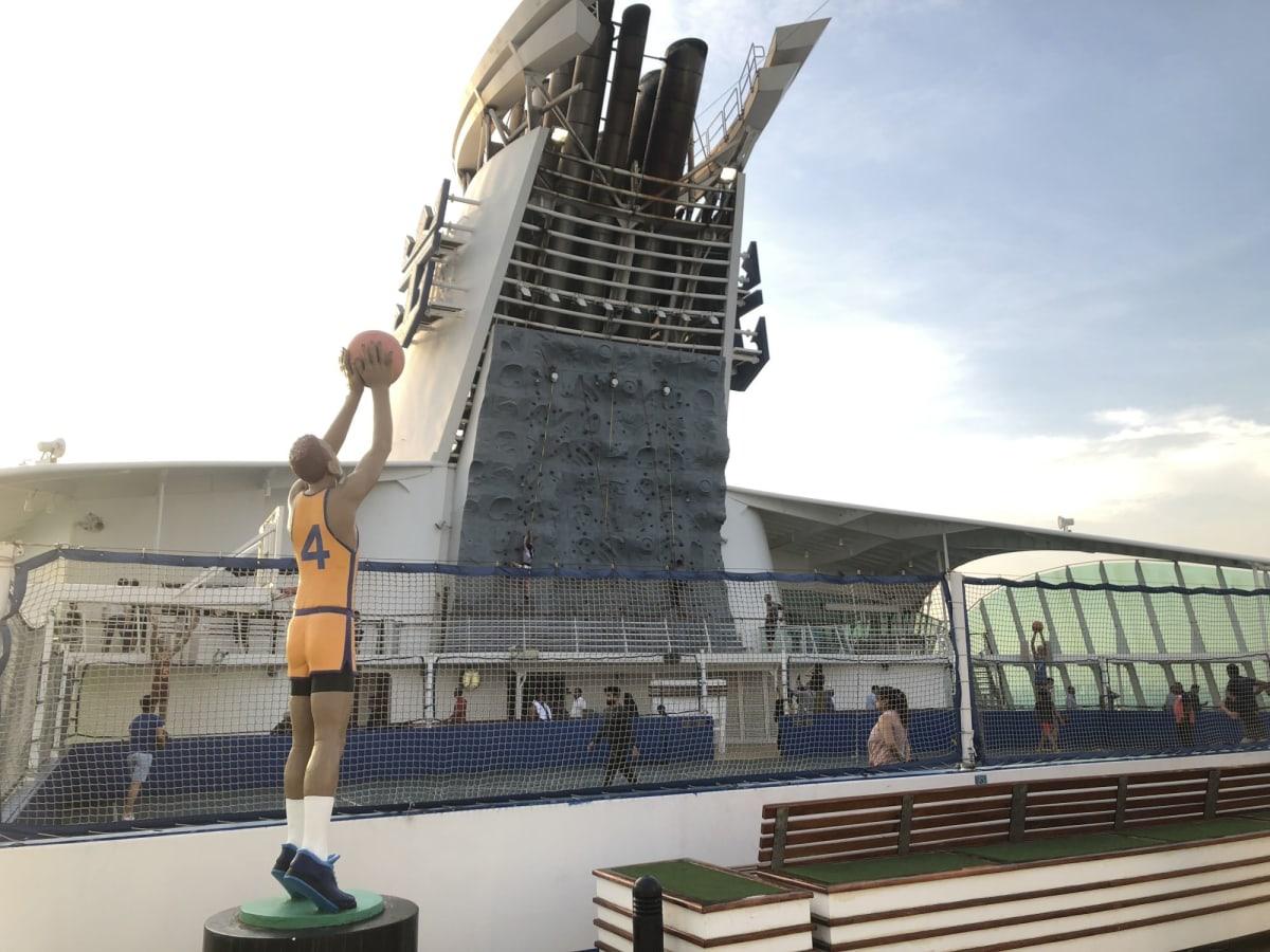 客船ボイジャー・オブ・ザ・シーズの船内施設