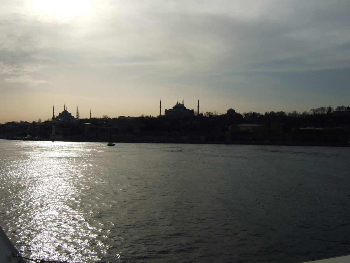 Day1#イスタンブール#出港#ブルーモスクとアヤソフィア | イスタンブール