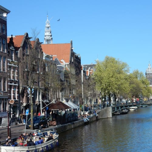 Day7#アムステルダム#運河沿いの風景#レッドライト地区 | アムステルダム