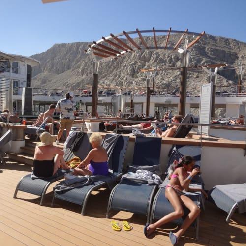客船セレブリティ・コンステレーションの乗客、船内施設