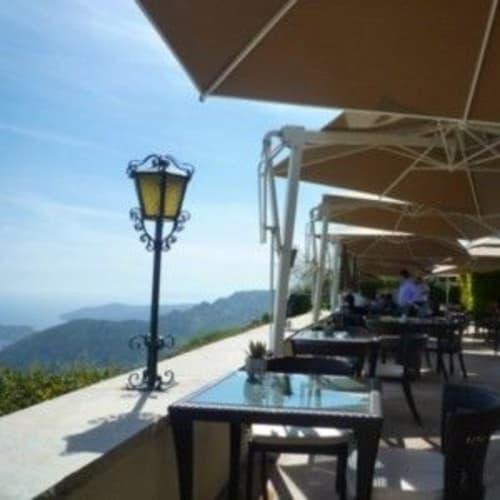 モンテカルロからは懐かしいシャトー・ド・ラ・シェーブルドールに行き、お茶。 | モンテカルロ