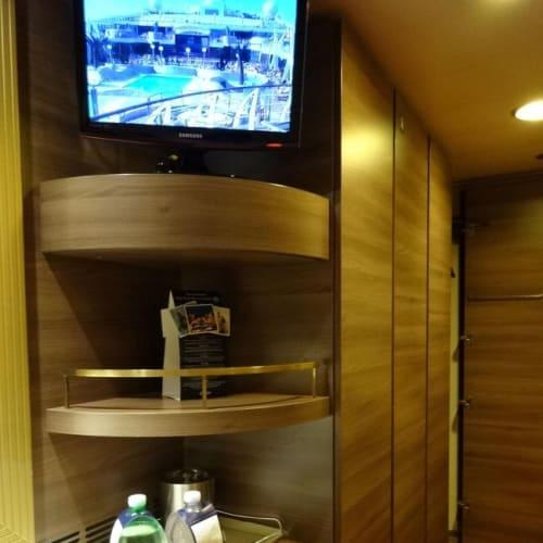 内側キャビンの一番お安いお部屋 | 客船MSCスプレンディダの客室