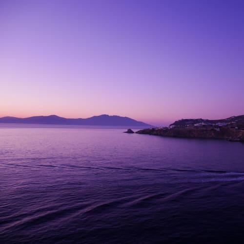 大分暗く成って来ました | ミコノス島