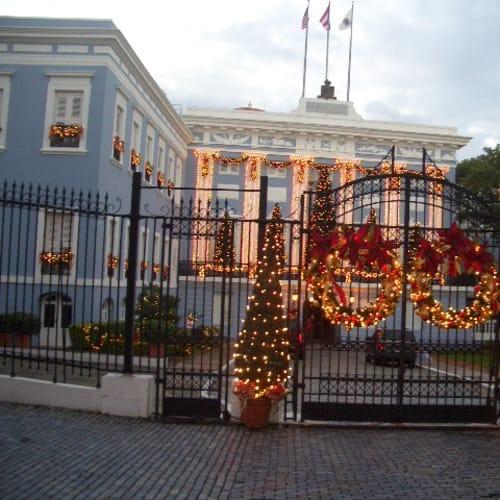 La Fortalezaのクリスマス飾り | サンフアン(プエルトリコ島)