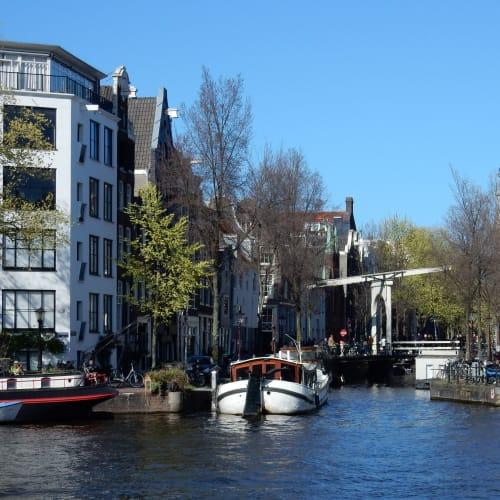 Day7#アムステルダム#運河沿いの風景#跳ね橋 | アムステルダム