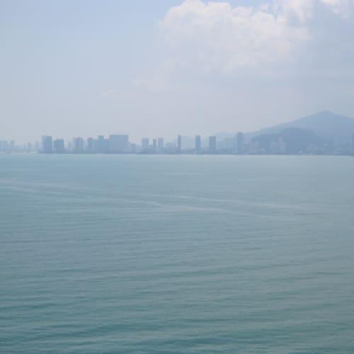 まもなく、ペナン島(Penang)に到着⚓︎ | ペナン島