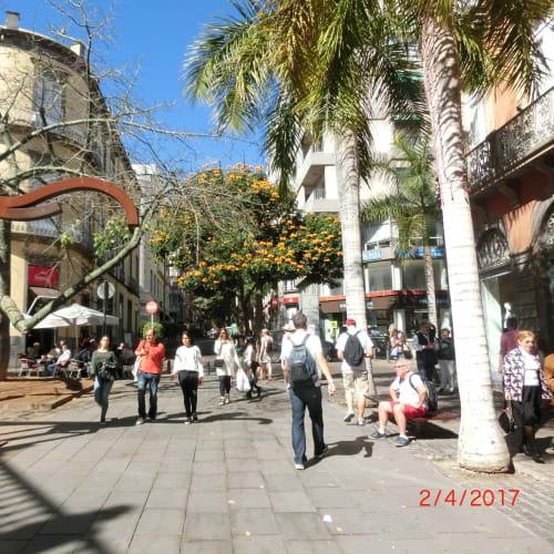 テネリフェ島  港の街並み | サンタ・クルス・デ・テネリフェ(テネリフェ島 / カナリア諸島)
